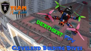 Downtown Cleveland Building Dives | A Nice Action-Filled FPV Quadcopter flight session