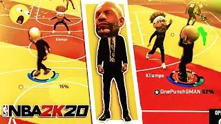 imagine gman's bald head but like 10x bigger... nba 2k20 big top event