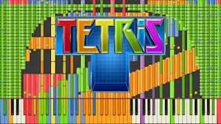 [BlackMIDI]Synthesia–TetrisThemeA[Final]ImpossibleRemix90,000notes~KanadeTachibana
