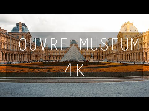 The Louvre Museum in 4K, What a Stunning Sight!
