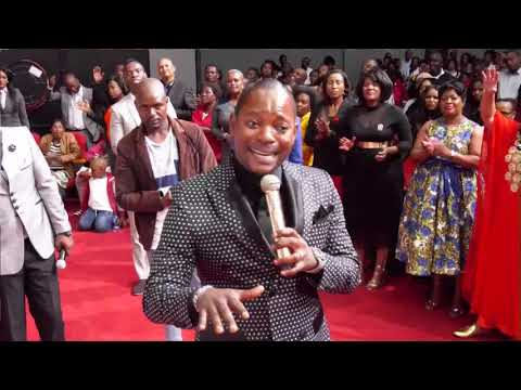 Pastor Alph Lukau talking about his supreme anointing.