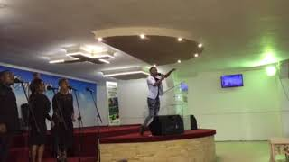 Nqobile Mbandlwa Live At ECc On Siphiwe Umsindisi Worship Night