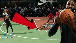 CRAZIEST ANKLE BREAKERS EVER BY RANDOM TEAMMATE! NBA Live 18 Live Run Gameplay Ep. 19