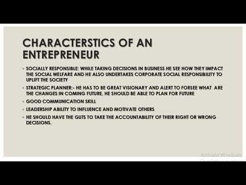 mp4 Entrepreneurship Characteristics, download Entrepreneurship Characteristics video klip Entrepreneurship Characteristics