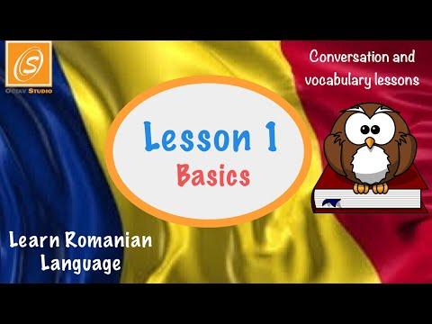 Basics - Useful Romanian Phrases