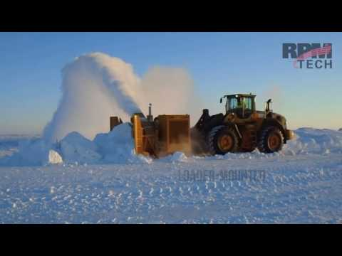 RPM P3500 Rotary Fan Snow Blower