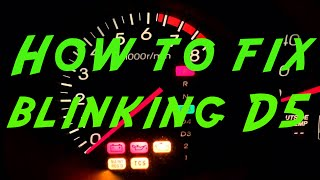 How to fix your Acura / Honda D5 blinking light DIY, for under $2