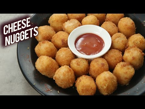 Crispiest POTATO CHEESE NUGGET | Best Party Starter Recipe – Cheese Nugget | Cheese Balls | Bhumika