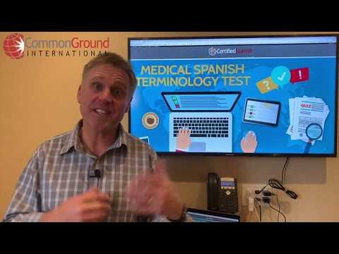 Medical Spanish Terminology Test on CertifiedSpanish.com ...