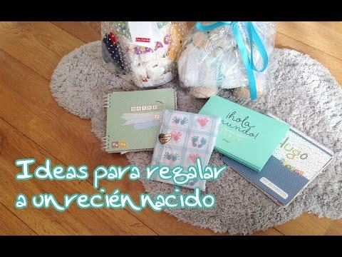 Ideas para regalar a un recién nacido