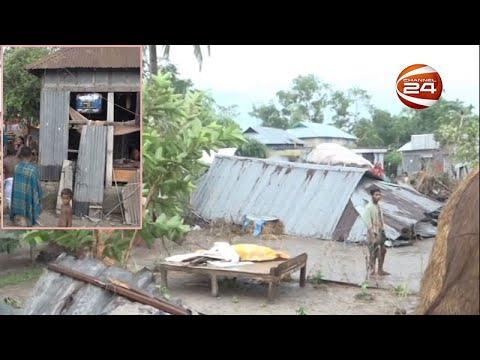 টর্নেডোর তাণ্ডবে লণ্ডভণ্ড ব্রাহ্মণবাড়িয়ায় চার গ্রাম