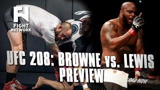 Travis Browne Training at Black House Ahead of UFC 208 vs. Derrick Lewis