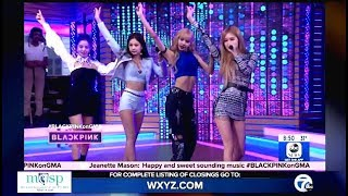 BlackPink Performs 'Ddu-du Ddu-du' Live On (GMA)