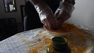 How To Fill Empty Gel Capsules Manually -Turmeric Powder