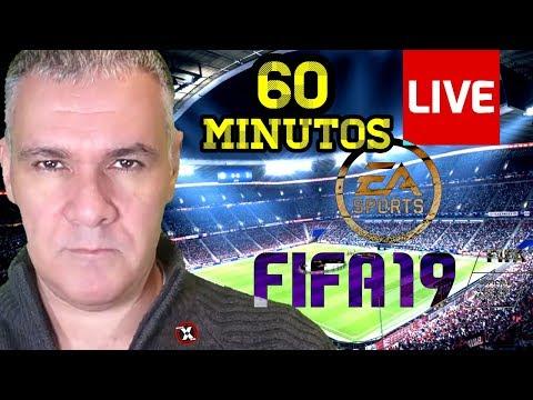 Jugamos SÚPER PARTIDO de LIGA DE 60 MINUTOS en FIFA 19