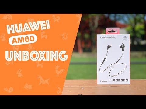 Unboxing y revisión de los auriculares Bluetooth Huawei AM60 Sport