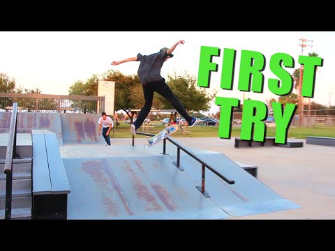 First Try Friday - Switch Heelflip Boardslide - Nick Holt