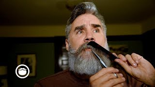 Taming the Beast: Mustache Trimming Tutorial   Greg Berzinsky