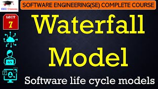 Software Development Life Cycles – Waterfall Model - Software Engineering Lectures in Hindi