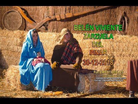 BELÉN VIVIENTE Zarzuela del pinar 2018