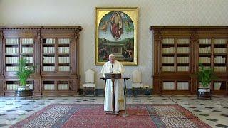 Påven Franciskus kallar till gemensam bön för ett slut på pandemin