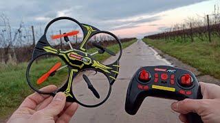Carrera RC Quadrocopter X1 370503013X Ferngesteueter Quadrocopter Test & Unboxing