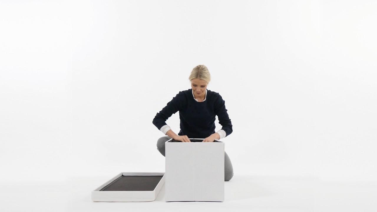Video von: Faltbare Sitzbank Leinen