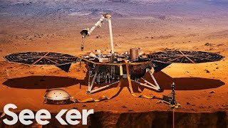 NASA Just Launched a Mission to Mars to Dig Deep Inside the Planet's Core
