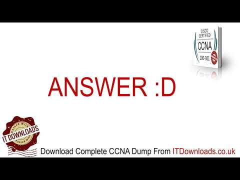 Latest CCNA Exam Dumps (200-301) Official Questions And ...