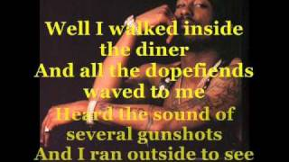 2Pac - Dopefiends Diner (Lyrics in video)