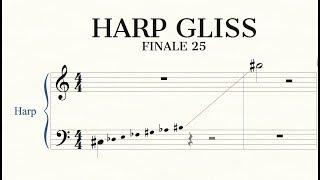 Harp Gliss | Finale Superuser