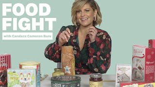 Candace Cameron Bure On The Best Trader Joes Holiday Treats | Food Fight | Womens Health