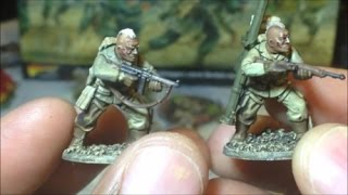 SWS Hobby Vlog   Bolt Action 2nd Edition Band of Brothers From Box to Table Part 7   Painted Airborn