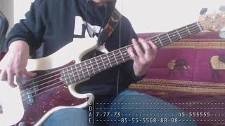 Tribute week to Dolores O'Riordan - 01 - The Cranberries - Animal Instinct [Bass Cover + Tab]