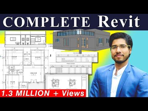 REVIT Beginners Tutorial | Revit BIM Project [COMPLETE]