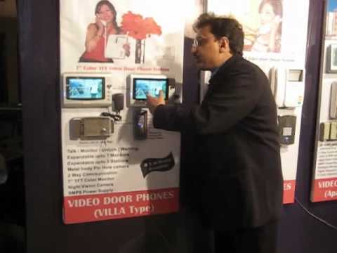 Plastic Video Door Phone