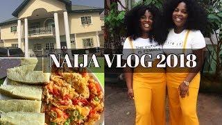 Come with me to Nigeria!! | Naija Vlog 2018 Part 1| Lagos| Owerri |