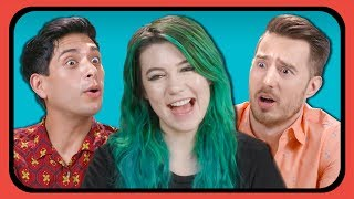 YouTubers React To Their FIRST YouTube Videos