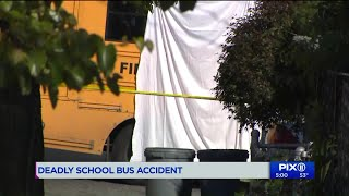 Man, 83, struck and killed by school bus in Queens: authorities
