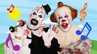 Pennywise And Art The Clown - Today Is Monday Horror DUET!