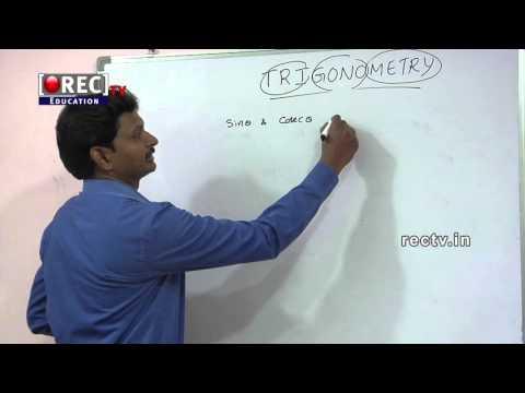 BASICS OF TRIGONOMETRY - PART 1 - 10 TH  MATHS TUTORIAL - SSC/ICSE/CBSE CLASSES -  FORMULAS