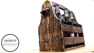 Dovetailed Beer Caddy - Ep 064
