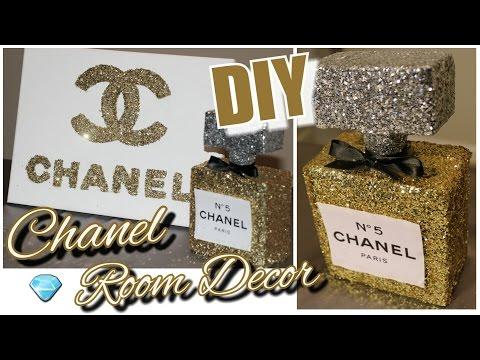 Diy Chanel Perfume Bottle Room Decor Chanel Canvas Wall Decor Tumblr