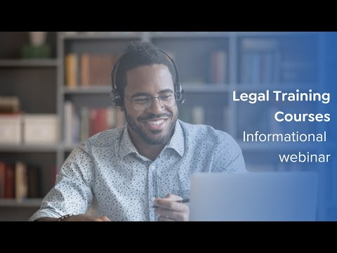 Legal Training Courses Informational Video (March 2021) | CLS by ...