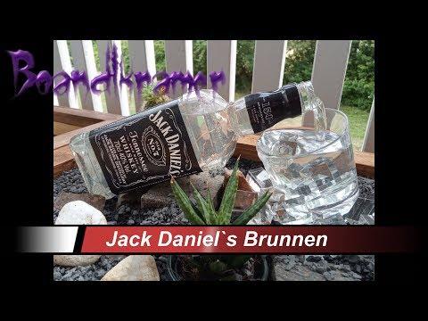 JACK DANIEL`S  LED Terrassenbrunnen-Zimmerbrunnen selber bauen