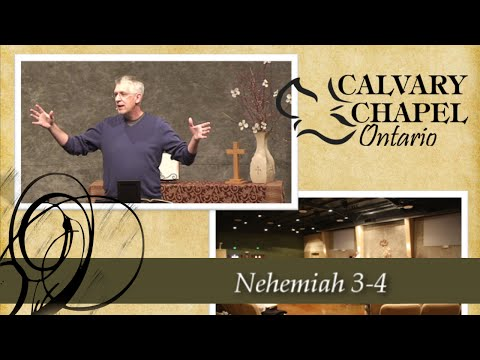 Nehemiah 3-4 Obedience in the Face of Opposition
