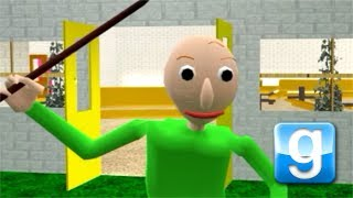 Garry's Mod Map + ENDING! Baldi's Basics in Education and Learning