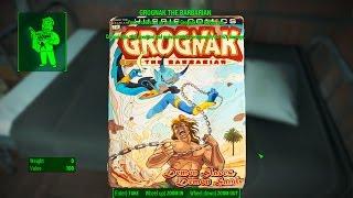 Grognak The Barbarian Magazine - Malden Middle School - Vault 75 - Fallout 4