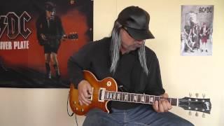 AC/DC - Deep In The Hole cover by RhythmGuitarX
