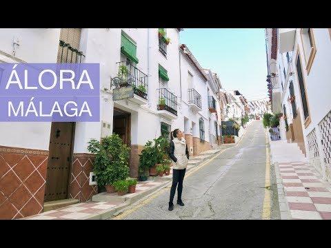 A VISIT TO ÁLORA village in Málaga, Christmas Market and Cute Animals - VLOGMAS 17   natalie danza